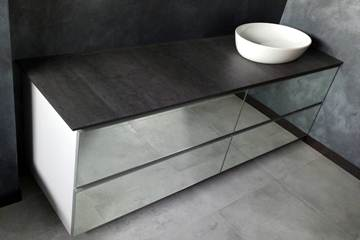 WC Laminam Anthracite